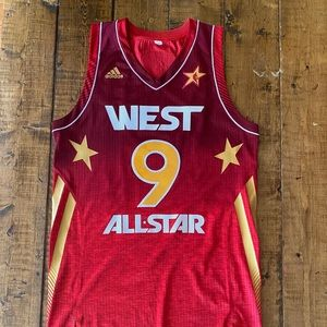 Tony Parker Signed All Star Spurs Authentic Jersey